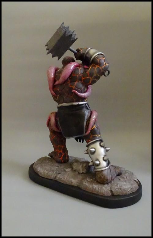 Angrir statue (Thing Fear itself) Angrir13