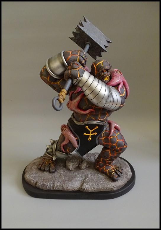 Angrir statue (Thing Fear itself) Angrir15