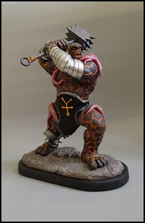 Angrir statue (Thing Fear itself) Angrir17