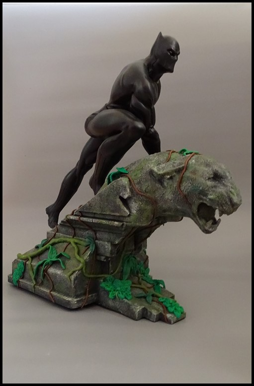 Black panther 1/4 statue Bp_1210