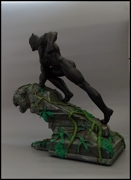 Black panther 1/4 statue Bp_1710