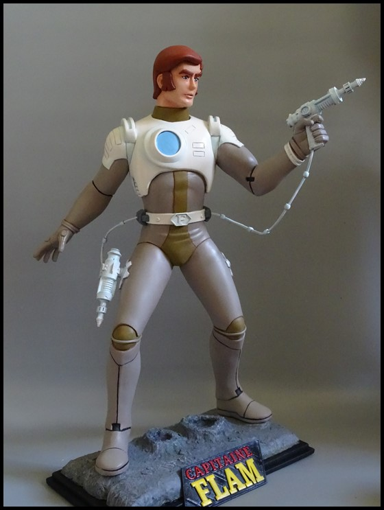 Capitaine Flam statue 1/4 Captit11