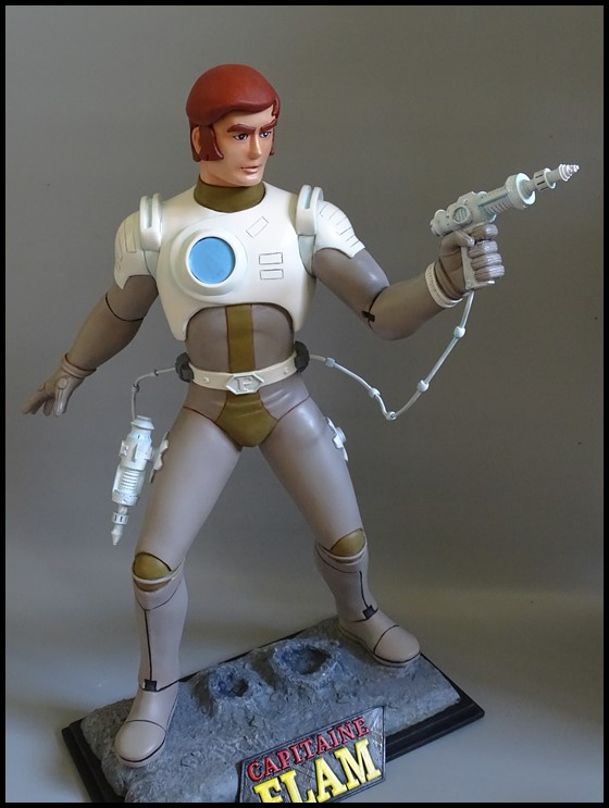 Capitaine Flam statue 1/4 Captit12