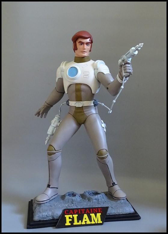 Capitaine Flam statue 1/4 Captit17