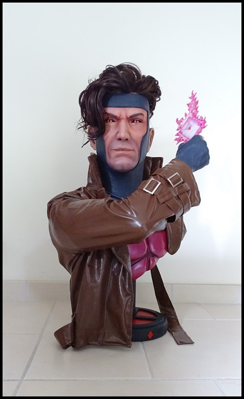 Gambit lifesize buste Dsc04110