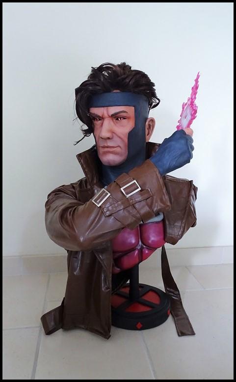 Gambit lifesize buste Dsc04111