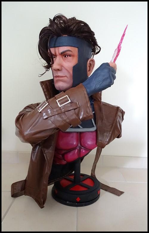 Gambit lifesize buste Dsc04112