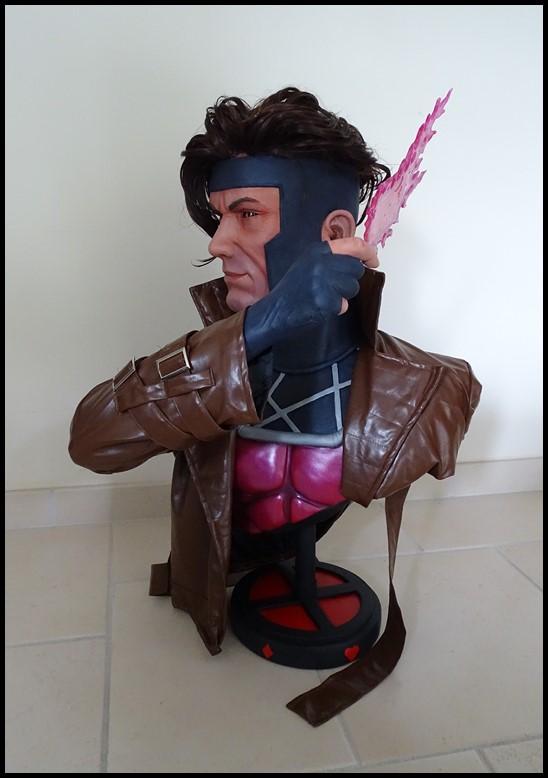 Gambit lifesize buste Dsc04113