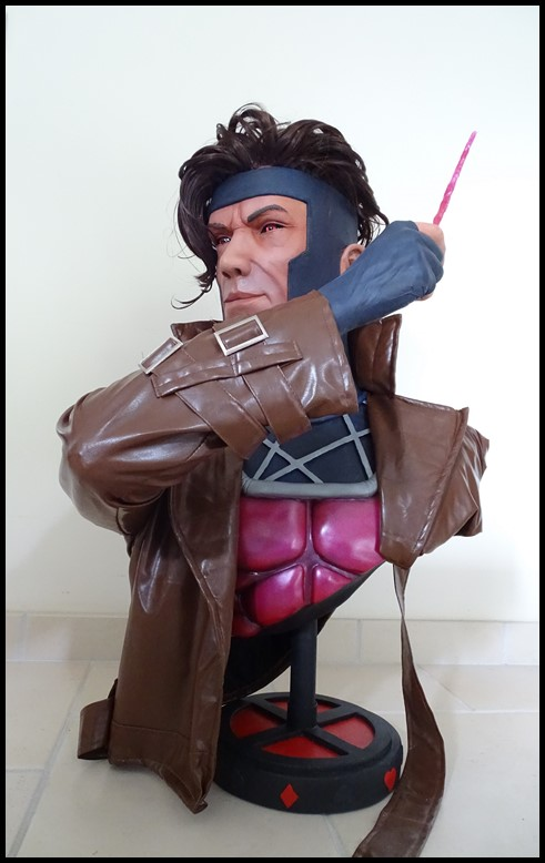 Gambit lifesize buste Dsc04114