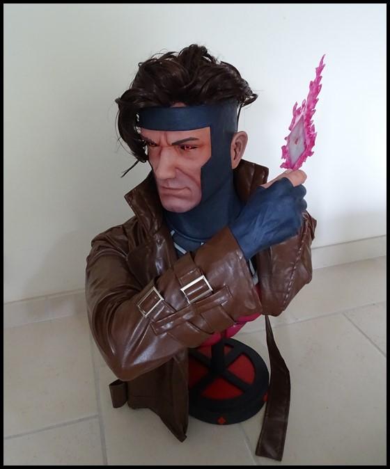 Gambit lifesize buste Dsc04115