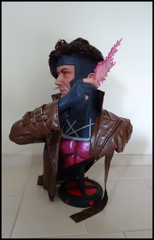 Gambit lifesize buste Dsc04118