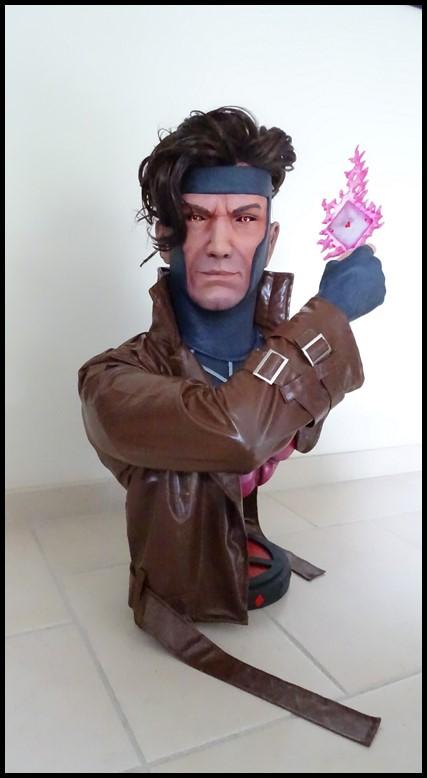 Gambit lifesize buste Dsc04119