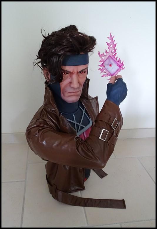 Gambit lifesize buste Dsc04121