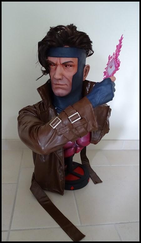 Gambit lifesize buste Dsc04123