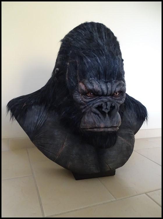 Kong lifesize bust Kong_123
