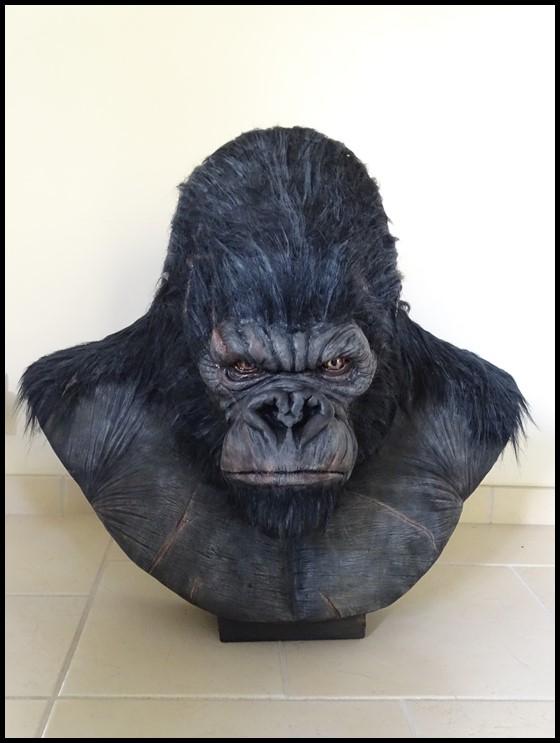 Kong lifesize bust Kong_130