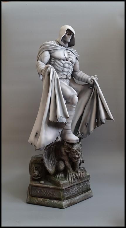 Moonknight statue 1/4 Mk_110