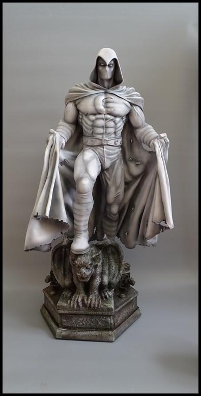 Moonknight statue 1/4 Mk_210