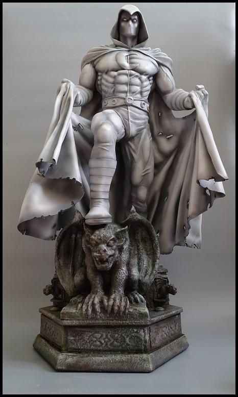Moonknight statue 1/4 Mk_310