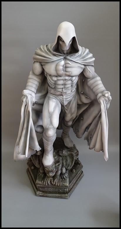 Moonknight statue 1/4 Mk_410