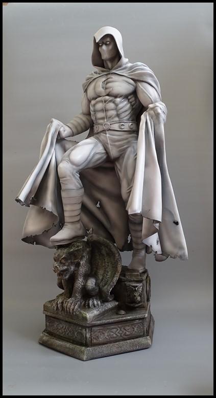 Moonknight statue 1/4 Mk_810