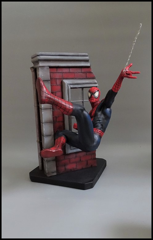 Spiderman statue (conversion) Spider11
