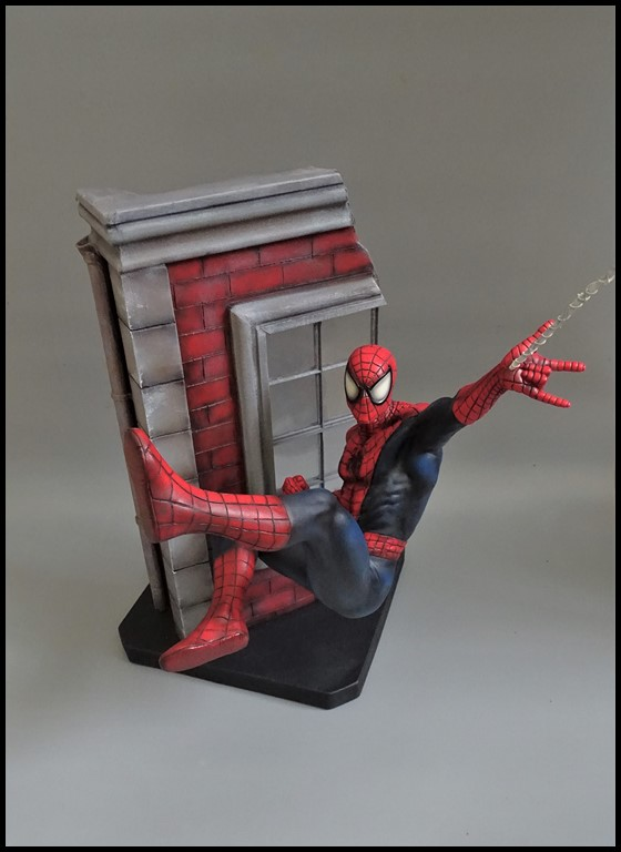 Spiderman statue (conversion) Spider12