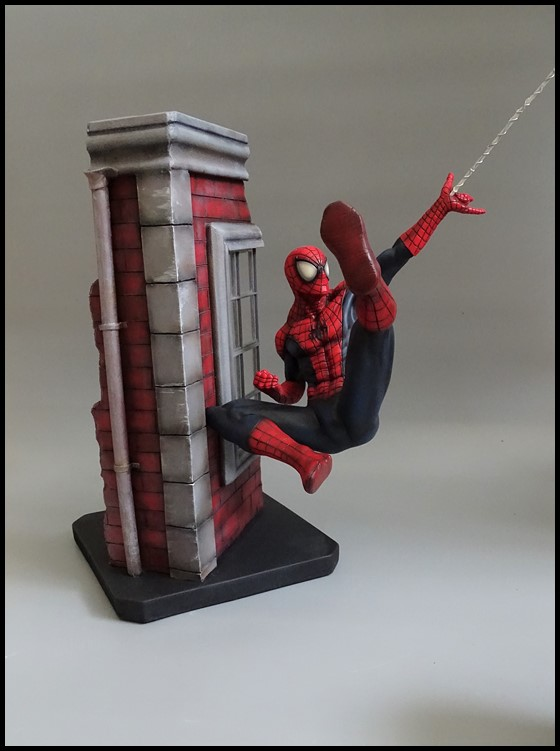 Spiderman statue (conversion) Spider13
