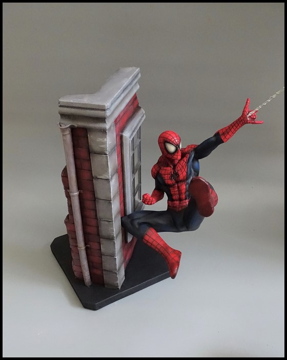 Spiderman statue (conversion) Spider14