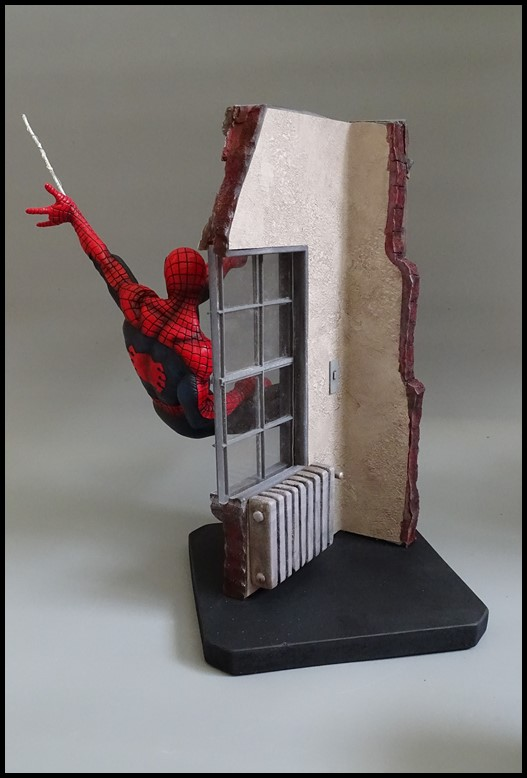 Spiderman statue (conversion) Spider16
