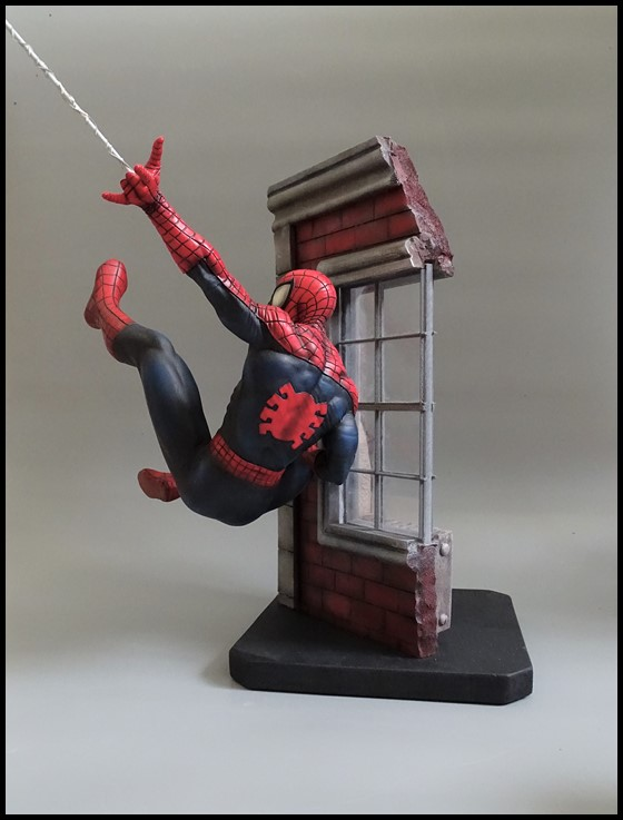 Spiderman statue (conversion) Spider17