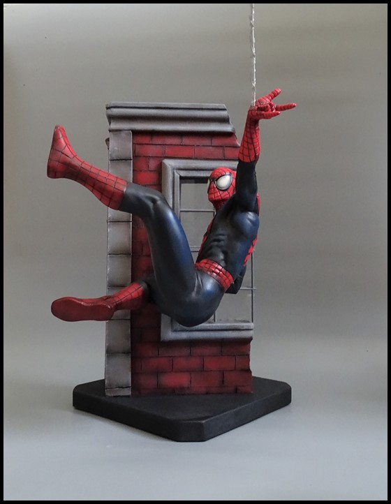 Spiderman statue (conversion) Spider18