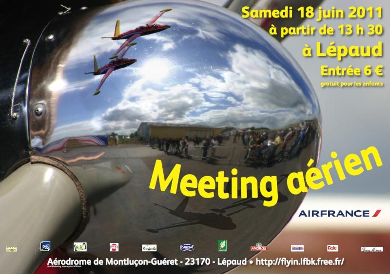 Meeting LFBK 2011 Montluçon Gueret Affich10
