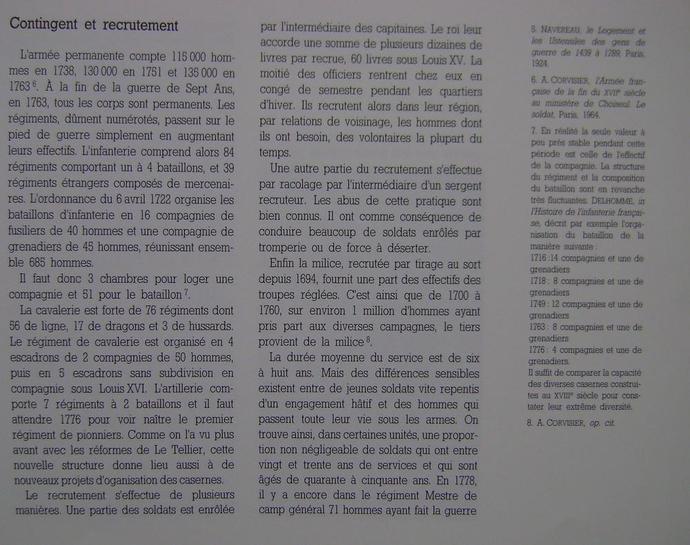 La vie interne au corps dans les armées de Louis XV Dsc03154