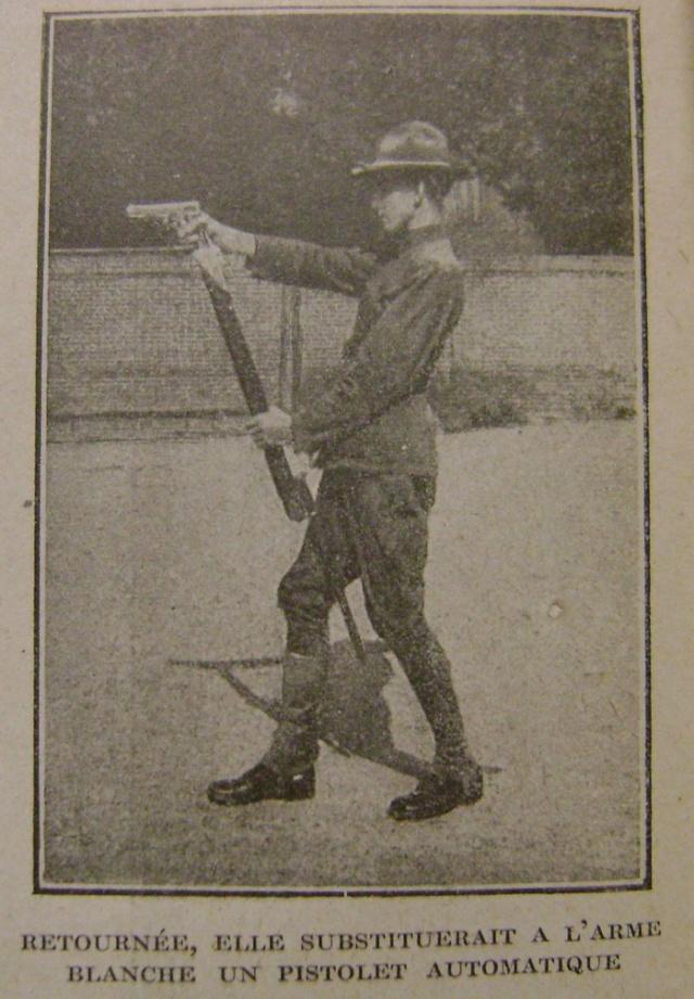 Le Colt .45/épieu baïonnette. Dsc03319