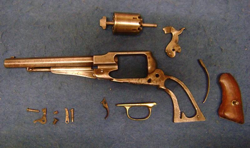 Revolver Remington New Model Army. Dsc03357