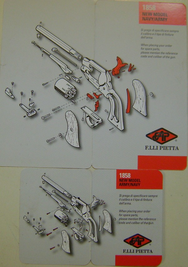 Revolver Remington New Model Army. Dsc03360