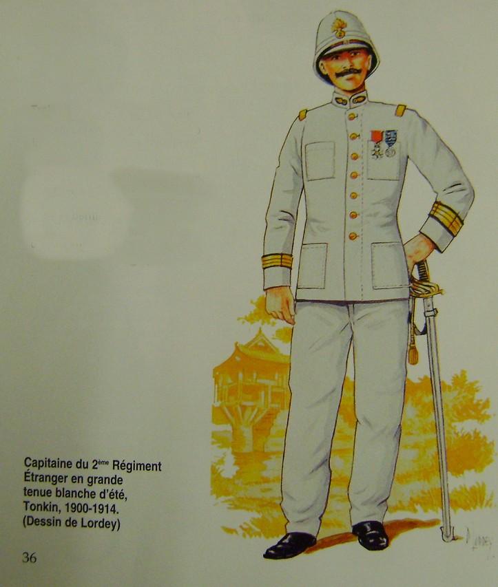 Veste blanche et dolman blanc légion étrangère. Dsc03639