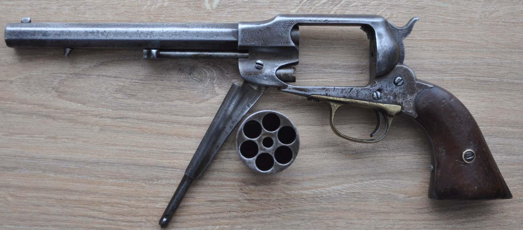 Revolver Remington New Model Army. Dsc_0010