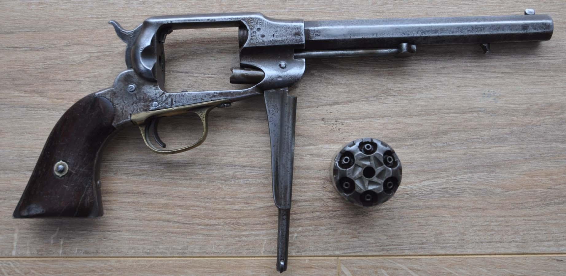 Revolver Remington New Model Army. Dsc_0011
