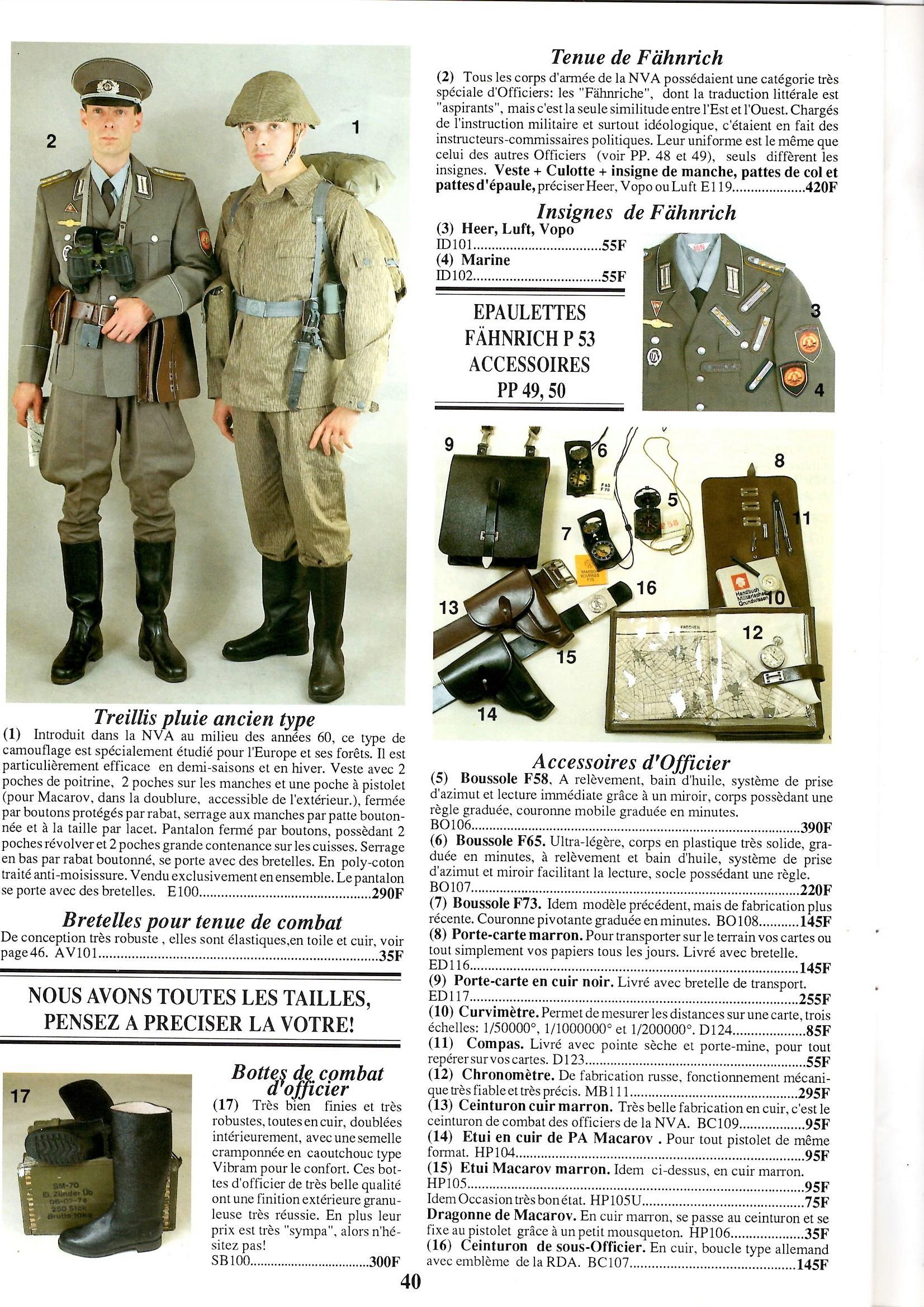 Le catalogue USMC des années 90: tout le matériel de la RDA! Epson010