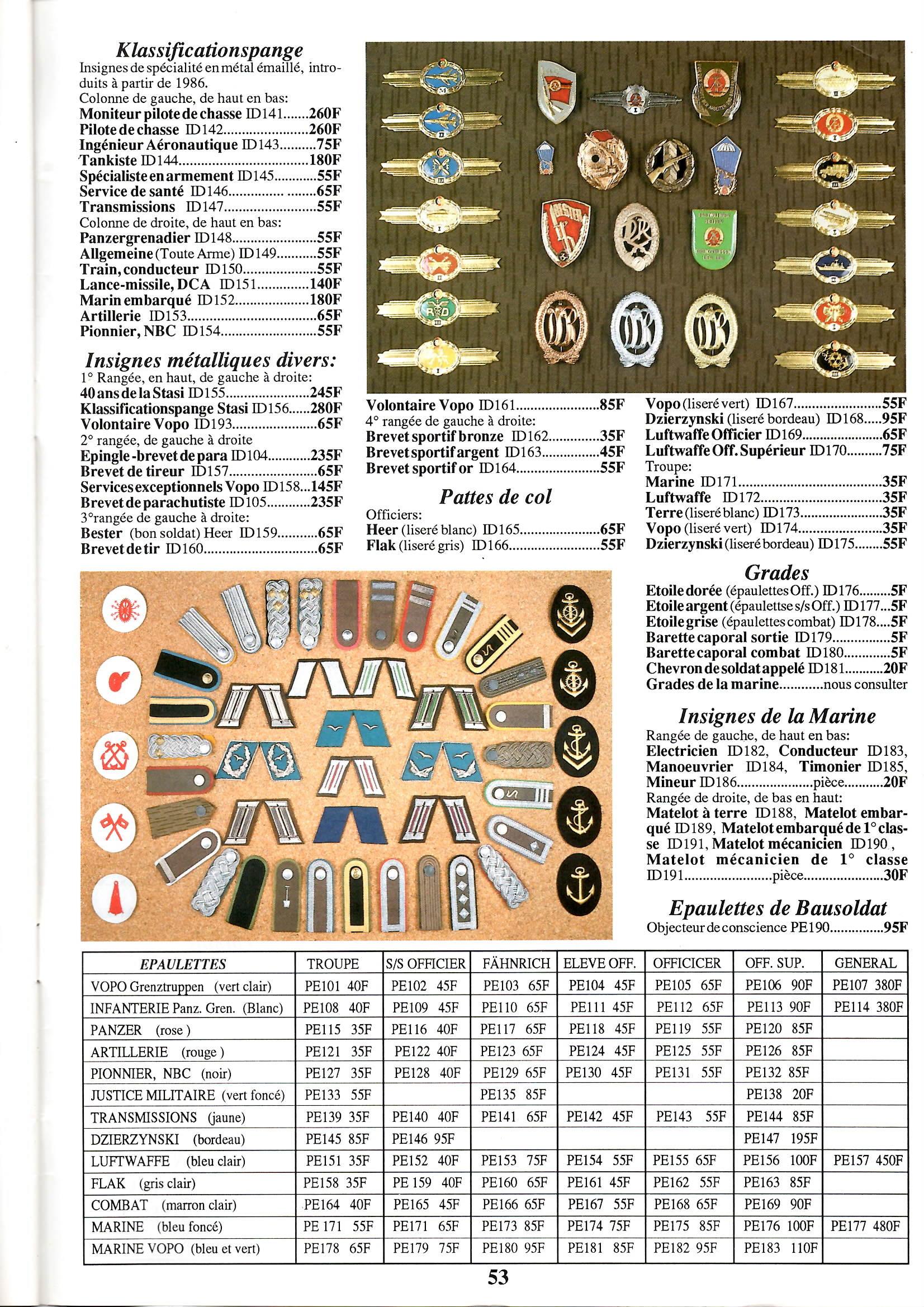 Le catalogue USMC des années 90: tout le matériel de la RDA! Epson026