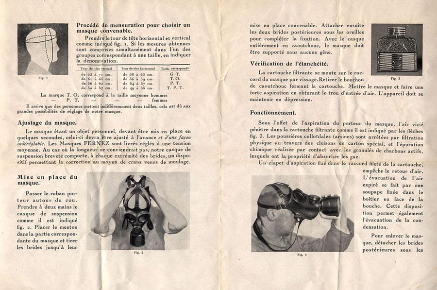 Taille de masque à gaz Fernez10