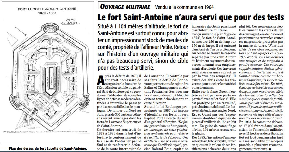 Le fort Saint Antoine vers Pontarlier. Fort_s10