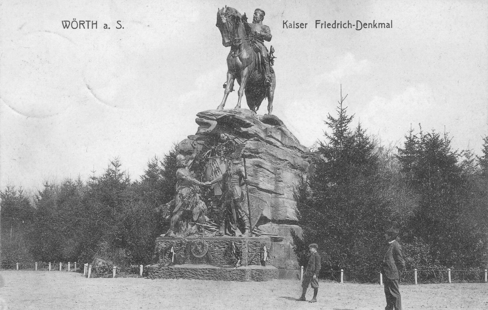 La tête de Frederic III revient à Woerth. Freder11