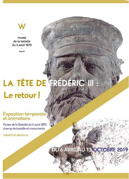 La tête de Frederic III revient à Woerth. Freder12