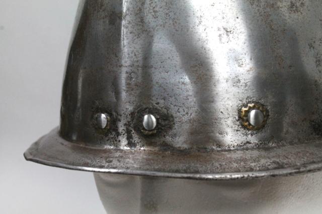 Casque cabasset XVI ème siècle Img_0111