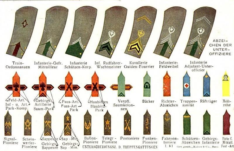 Equipements de l'armée suisse. Insign11