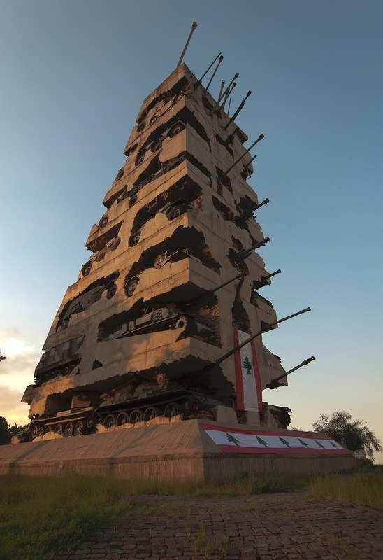 "Liban, monument de 1994 ""Hope for Peace"". Liban10"