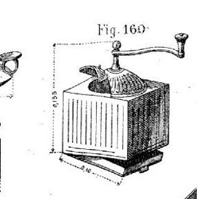 Cantine à vivres et caisse de fonds 1885. Moulin15